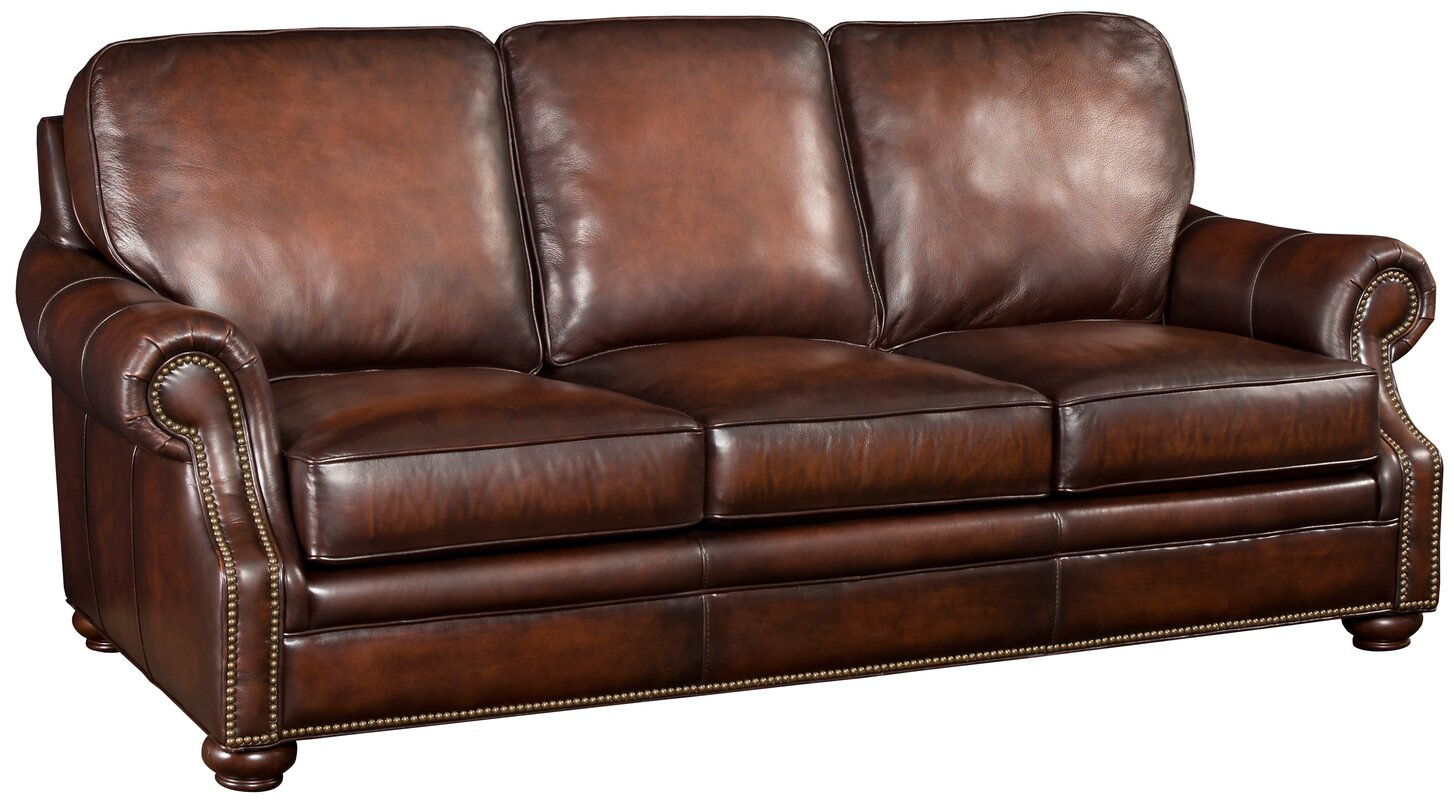 Hooker Leather Sofa