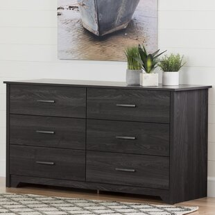 Fusion 6 Drawer Double Dresser