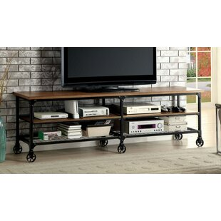 Tv Board Industrial 70 inch and larger industrial tv stands you ll wayfair