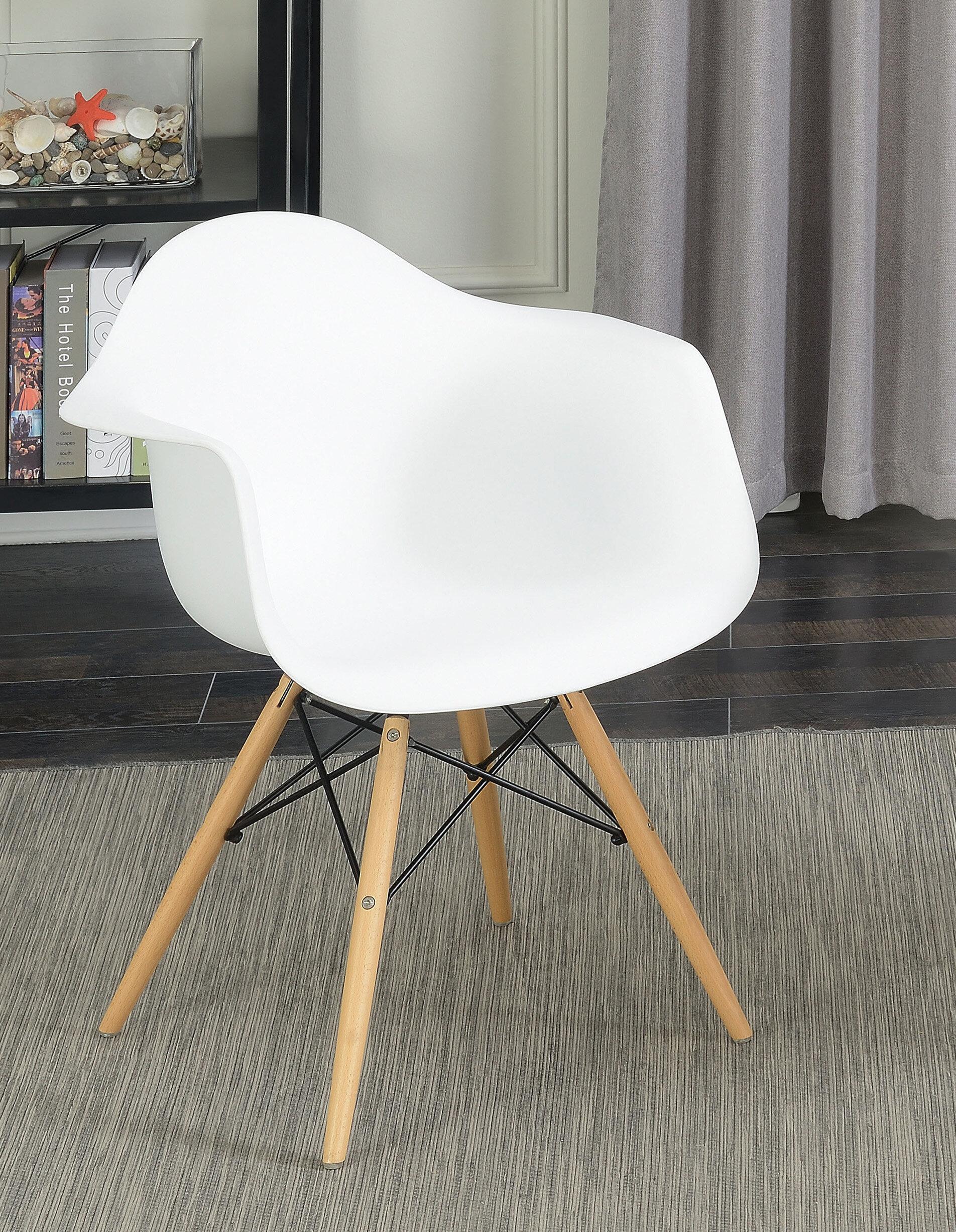Brayden Studio Rinehart Mid Century Modern Dining Chair Wayfair