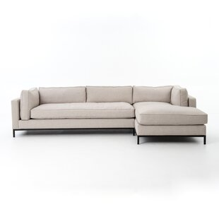2 Piece Sectional With Chaise | Wayfair