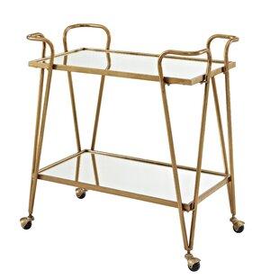 Laurence Mid Century Bar Cart