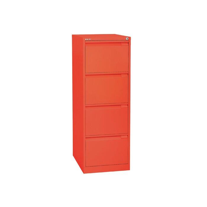 Bisley Direct 4 Drawer Filing Cabinet   Wayfair.co.uk
