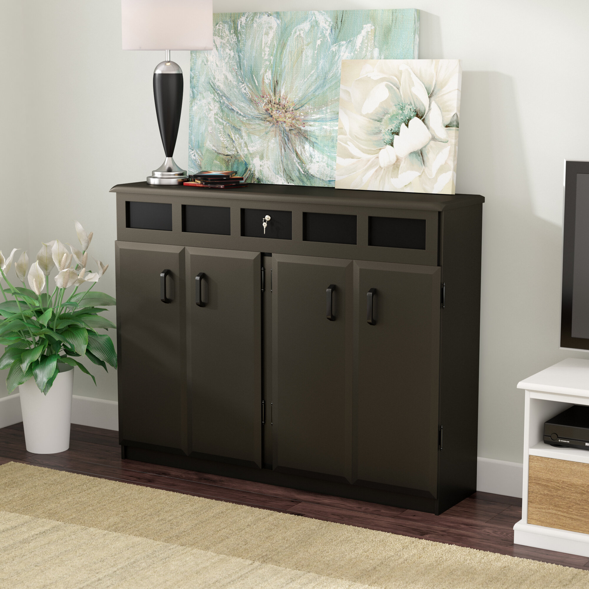 file open tag cabinet media simpli home bedford low wayfair pottery storage barn desk small
