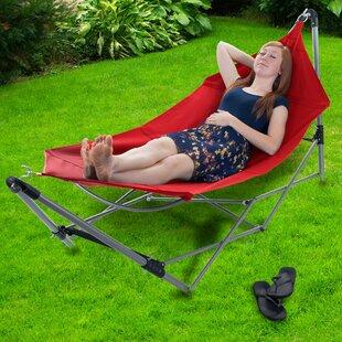 portable hammocks portable hammocks you u0027ll love   wayfair  rh   wayfair