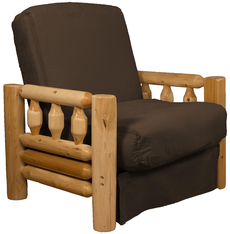 Millwood Pines Espen Futon Chair Wayfair