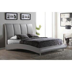 Upholstered Platform Bed by Global Furniture USA