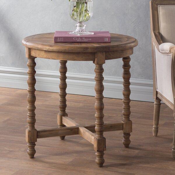 Petrified Wood End Table | Wayfair