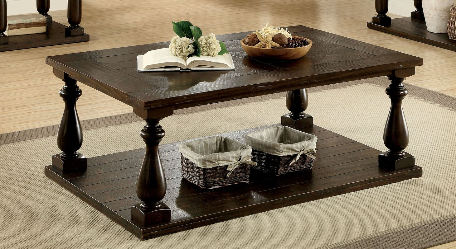 Transitional coffee table - Branson Transitional Coffee Table