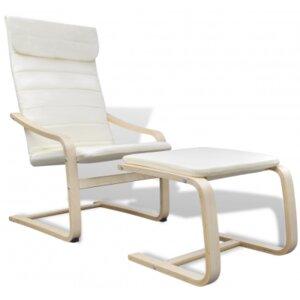 Sessel mit Fußhocker von dCor design