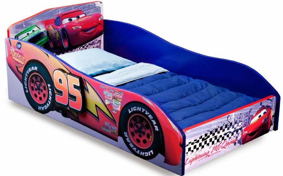 Delta Children Disney Pixar Cars Convertible Toddler Bed Reviews - Lightning mcqueen custom vinyl decals for cardisney pixar cars a walk down cars advertising memory lane take