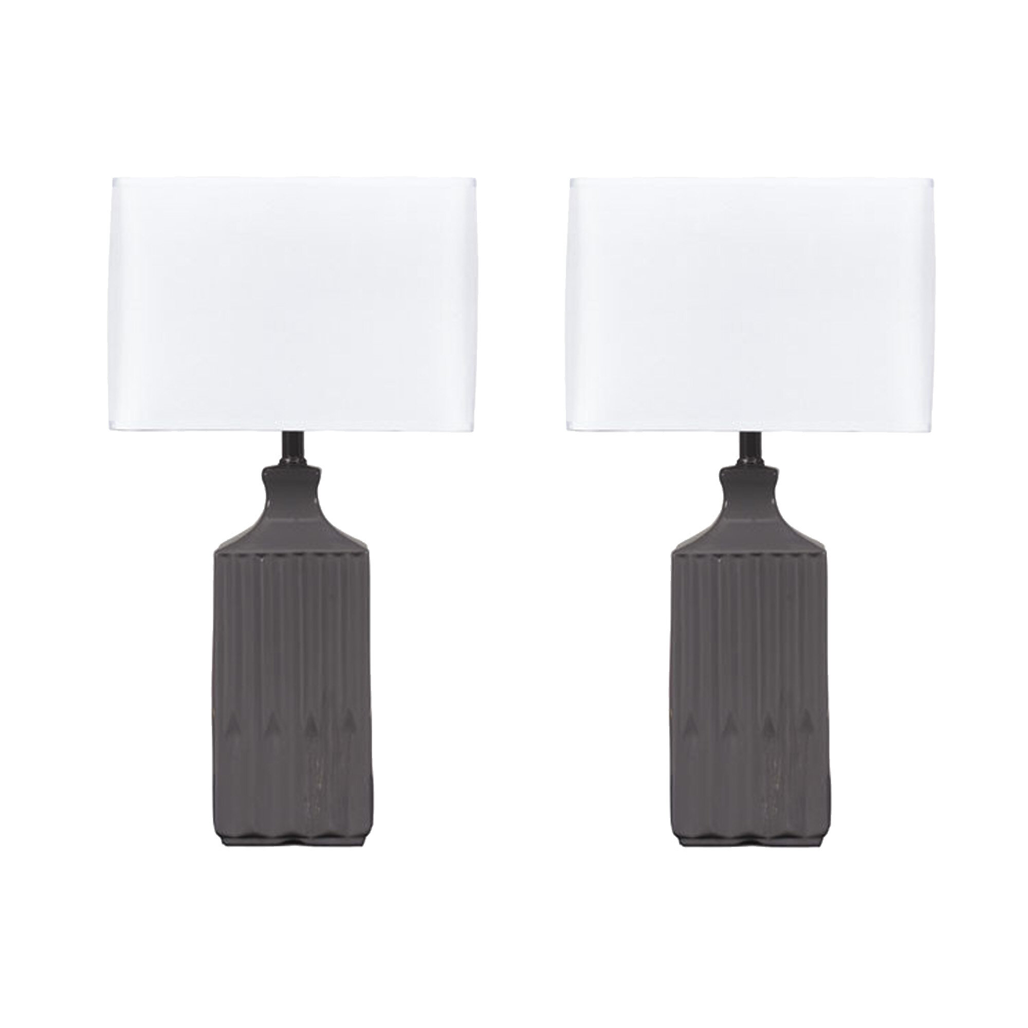 Signature Design By Ashley Patience Table Lamp Set Reviews Wayfair