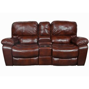 Wood Legs Leather Sofa | Wayfair