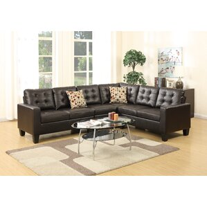 Bobkona Roxana Sectional by Poundex