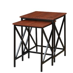 Abbottsmoor 2 Piece Nesting Tables. Cherry Abbottsmoor ...
