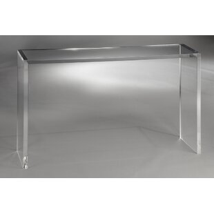 Clear Plastic Acrylic Console Sofa Tables Youll Love Wayfair
