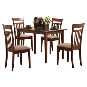 Galeton 5 Piece Dining Set by Red Barrel Studio