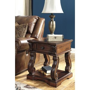 Astoria Grand Binion End Table With Storage