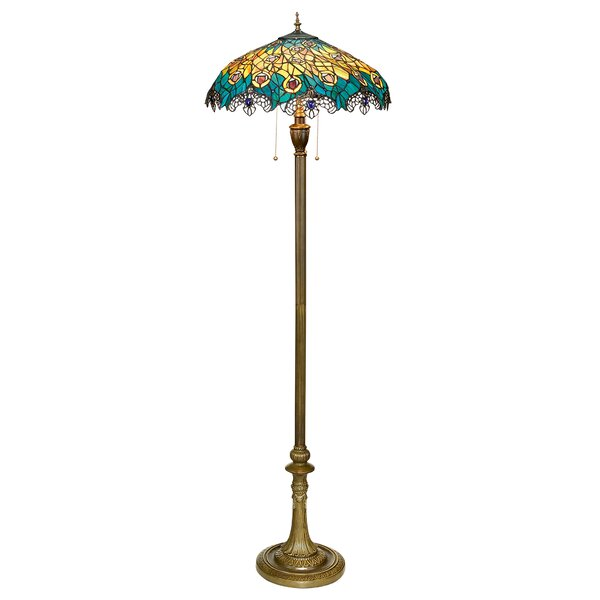 Art nouveau floor lamp wayfair