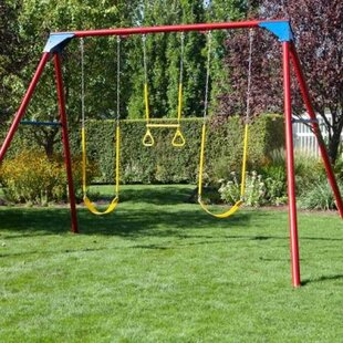 9 To 10 Year Old Metal Swing Sets You Ll Love Wayfair