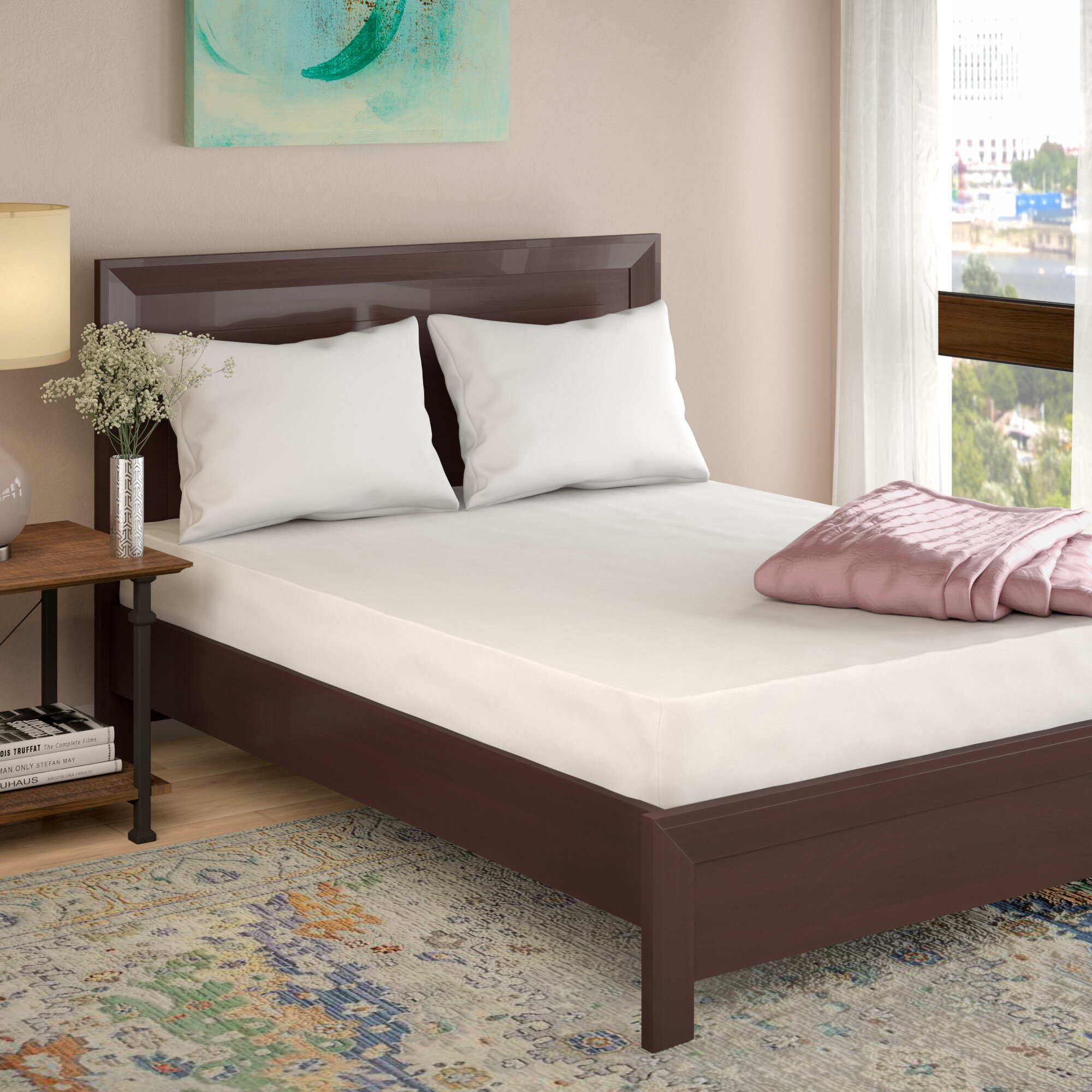 bedding shipping orders bath over protector overstock waterproof free pad mattress beautyrest on product king
