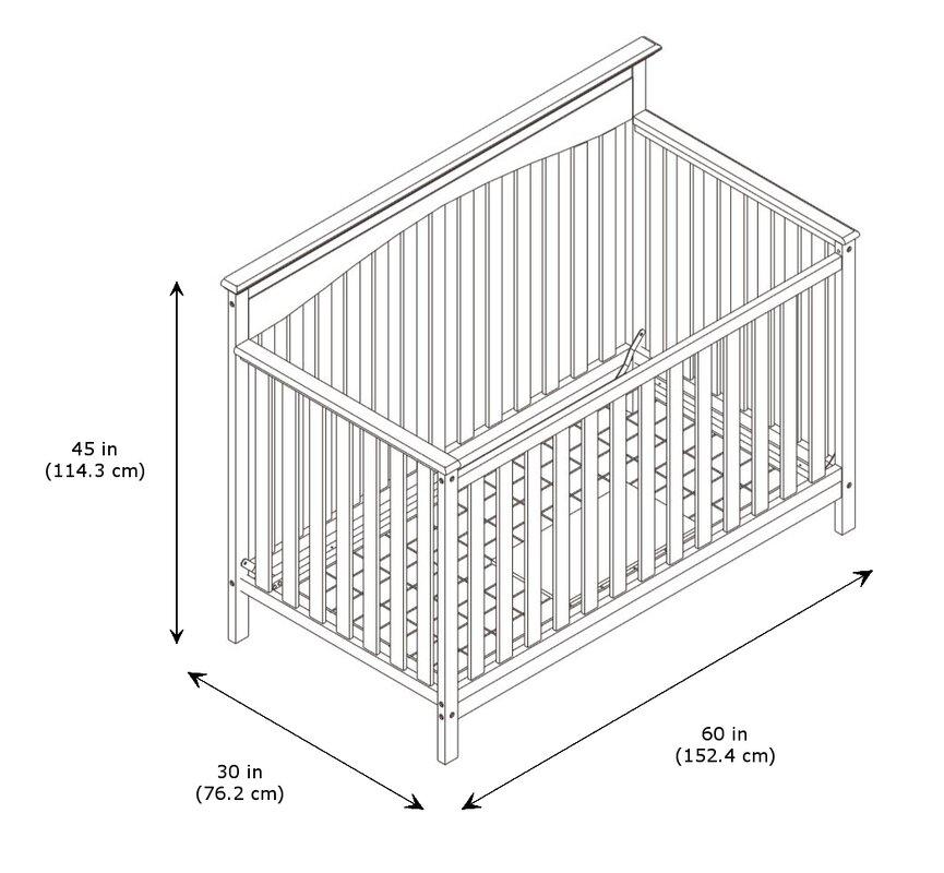 Graco Hayden 4 In 1 Convertible Crib Amp Reviews Wayfair