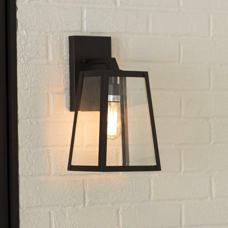 Mercury Row Brill LED Outdoor Wall Lantern & Reviews   Wayfair