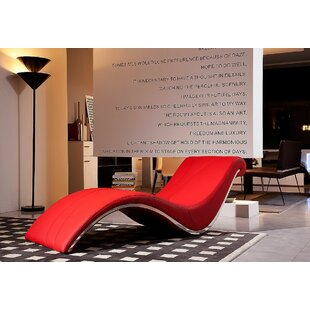 Red Leather Chaise Lounge Wayfair