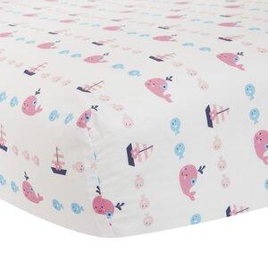 Splish Splash Fitted Crib Sheet