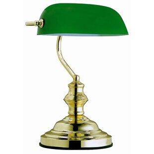 Green table lamps wayfair nanticoke 36cm table lamp aloadofball Images