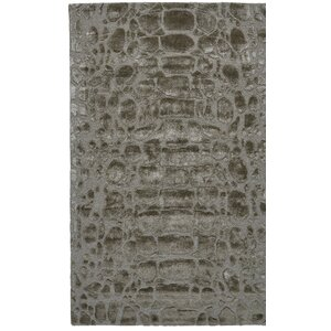 Gina Hand-Tufted Pewter Area Rug