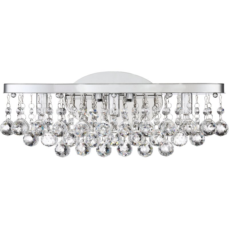 Willa Arlo Interiors Faun 3-Light LED Vanity Light & Reviews | Wayfair