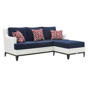 Hampton Patio Sectional With Cushions