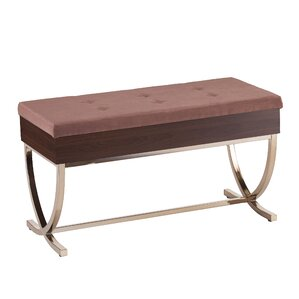 Everdeen Tufted Lift Top Storage Bench by House of Hampton