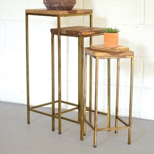 Tall nesting tables wayfair lexington 3 piece nesting table watchthetrailerfo