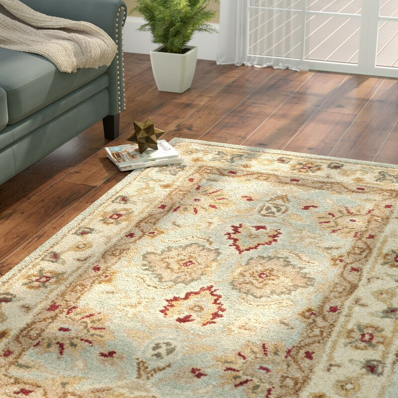 Charlton Home Otwell Gray Blue Beige Area Rug Amp Reviews