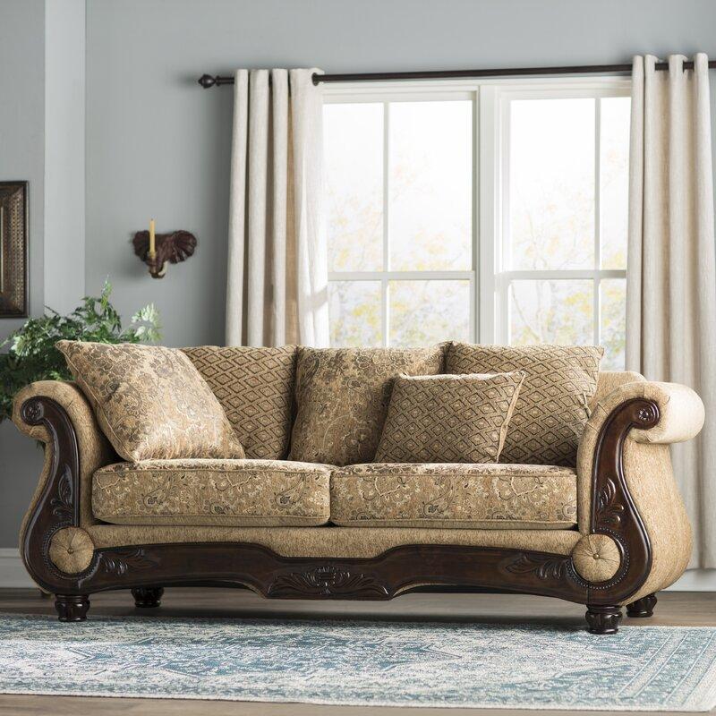 Sofa Shops: World Menagerie Destanee Traditional Sofa & Reviews