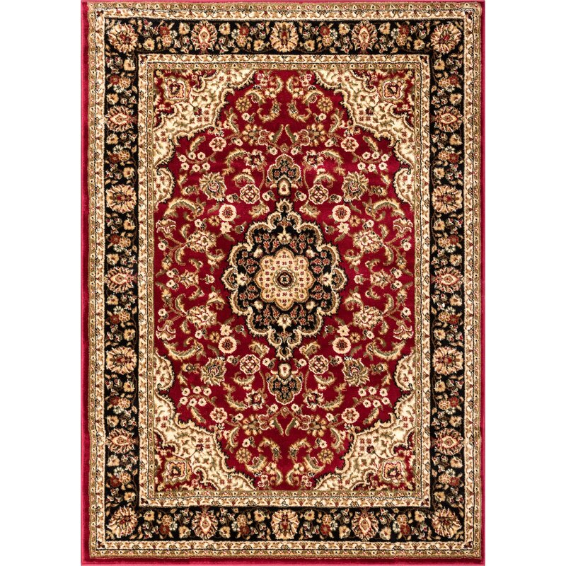 World Menagerie Barclay Red Area Rug Amp Reviews Wayfair Co Uk