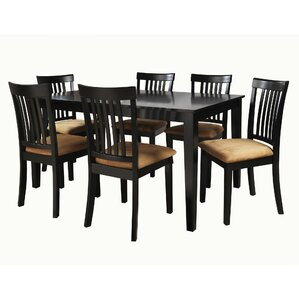 Oneill 7 Piece Wood Dining Set by Andover..
