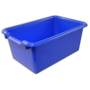 Charmant Navy Blue Storage Bin | Wayfair
