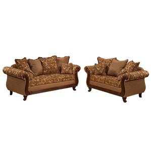 Glacier 2 Piece Living Room Set by Gardena Sofa