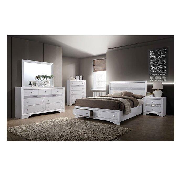 Ebern Designs Asa Platform Configurable Bedroom Set Wayfair Simple Things For Bedroom Set Design