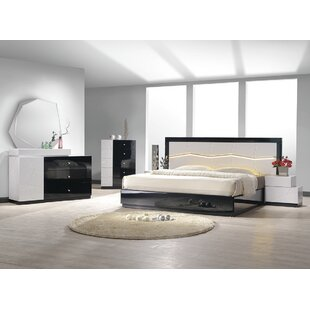Jinn Platform 5 Piece Bedroom Set