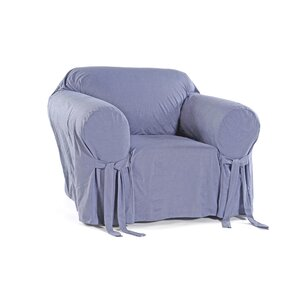 Box Cushion Armchair Slipcover by Classic Sl..