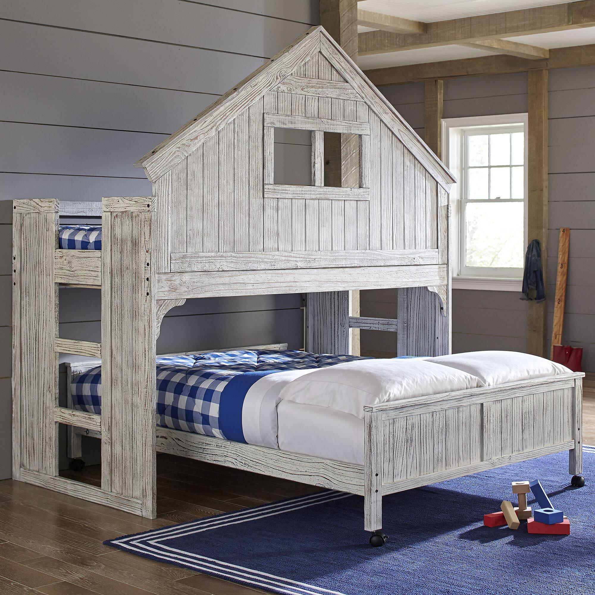 Birch Lane™ Heritage Olga Twin Over Full Bunk Bed & Reviews