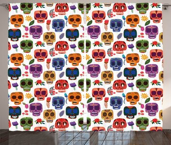 latitude run antony day of the dead graphic print and text. Black Bedroom Furniture Sets. Home Design Ideas