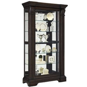 Glencoe Lighted Curio Cabinet by Darby Ho..