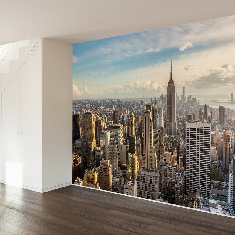 Walls Need Love New York Skyline Wall Mural Wayfair