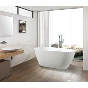 59″ x 29.5″ Freestanding Soaking Bathtub