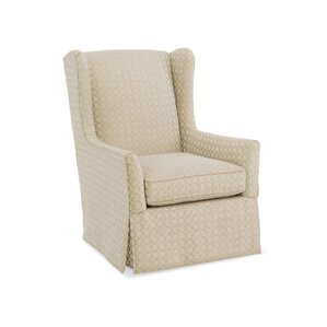 Delilah Swivel Wingback Chair by Sam Moore